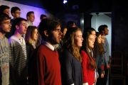 CHOIR AT NETWORKS THEATRE, ORIHUELA MARCH 2013